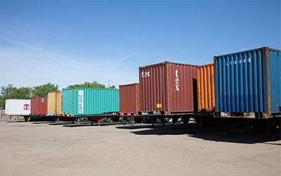 Quality Intermodal Shipping Containers Shipped Anywhere in the U.S.